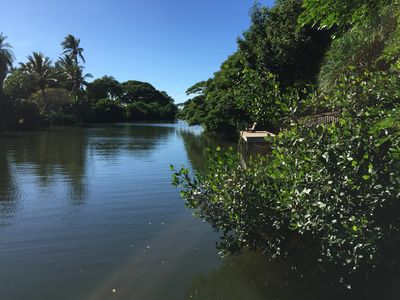Photo for Riverfront Cottage in Haleiwa
