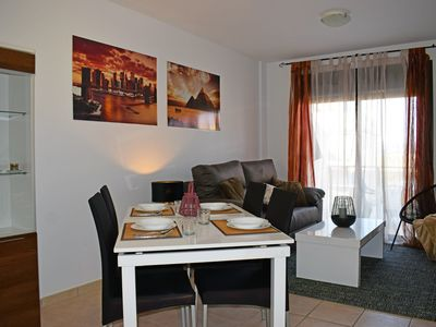 Photo for Lovely and nice holiday house in Bellreguard, on the Costa Blanca, Spain  with communal pool for 6 persons