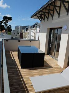 Photo for Bay of Baule appart T3 bright beautiful terrace near beach shops WiFi