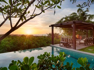 Photo for Casa Alegria - 5 Bedroom Tropical house with ocean view
