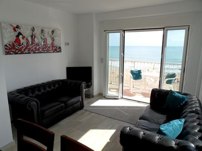 Photo for 3 Bedroom Beach Front 2nd Floor Apartment Guardamar Carrer Blasco Ibanez