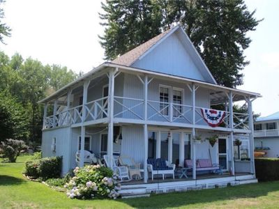 Photo for Cottage on Lake Ontario with extra charm and character!
