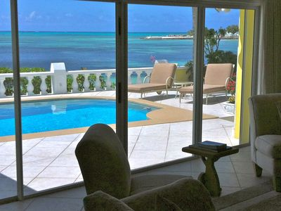 Photo for Beachfront Private House-excellent location!! Walk to magnificent Baha Mar.
