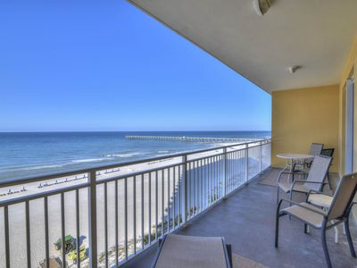 Photo for Condo w/ beach view plus a shared pool - walking distance to the beach!