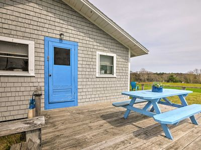 Photo for 'Blueberry Cottage'-Dock on Scenic Back River Cove