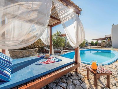Photo for 4BR Villa Vacation Rental in Pefkos