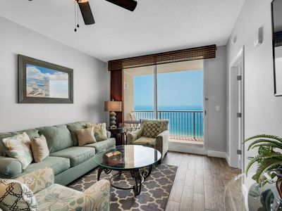 Photo for Beachfront | Penthouse | 2 Bed, 2 Bath | Heated Pool