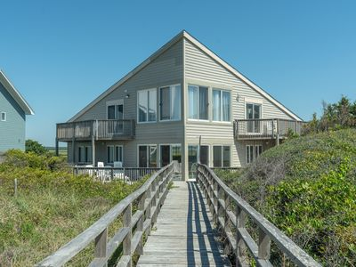 Photo for A Fishtowne - Oceanfront home with beautiful views of the ocean and ICW