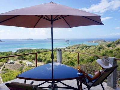 Photo for Castaways Carriacou—Luxury hilltop hideaway with spectacular views