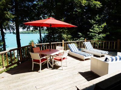 Photo for Walloon Lakefront - Wooded & Serene - Year-Round