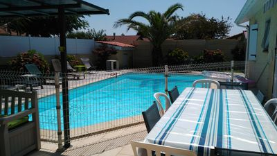 Photo for Conditioned Villa with Heated Pool in 10min beaches