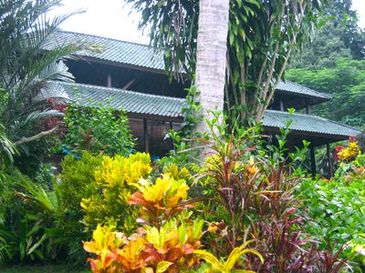 "Photo for Serene Private ""Old Bali"" Estate w/pool&Staff, Tucked Away short Walk From Ubud"