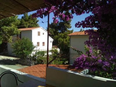 Photo for Two bedroom apartment with terrace Ivan Dolac, Hvar (A-18269-d)