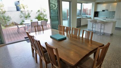 Dining room with seating for 10+