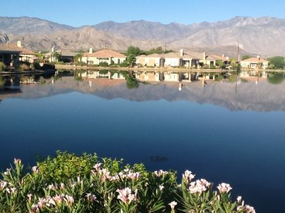 Photo for Beautiful Lakefront Pool Home With Amazing Mountain Views