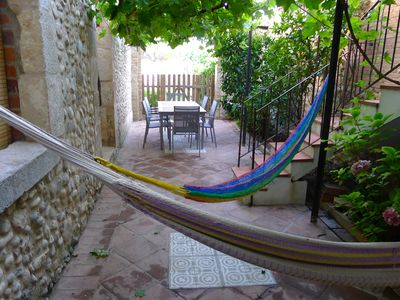 Photo for HOUSING, 2 patios and ORGANIC GARDEN, COSTA BRAVA. Newly refurbished.