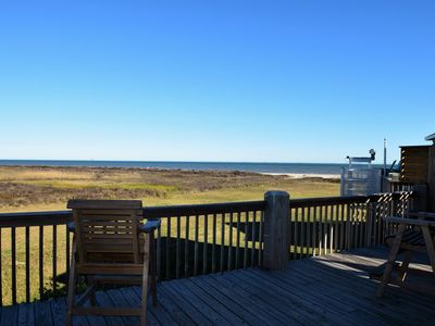 Photo for Belle Vue - Beachfront Views from this home. Located on quiet beach. Sleeps 8
