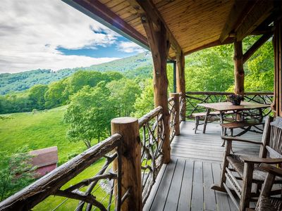 Photo for ASK ABOUT DISCOUNTED RATES!The Eagle Eye Cabin at The Original Eagles Nest