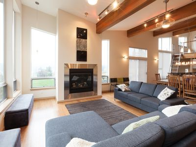 Photo for Mountain House - luxury vacation rental in a rural setting with stunning views!