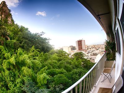 Photo for Beautiful and cozy Apt 2 Rooms With Balcony and garage in Copacabana