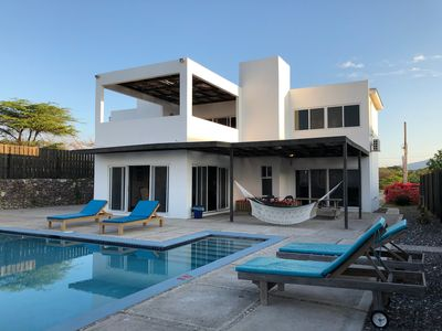 Photo for Luxury beach front villa with private pool and personal chef included.