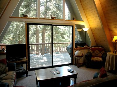 Photo for Ackley: 4 BR / 2 BA house/cabin in Carnelian Bay, Sleeps 9
