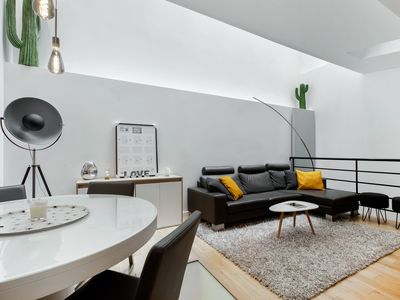Photo for Wonderful design duplex in the heart of Paris -16th