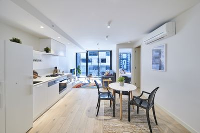 Contemporary design and luxury touch