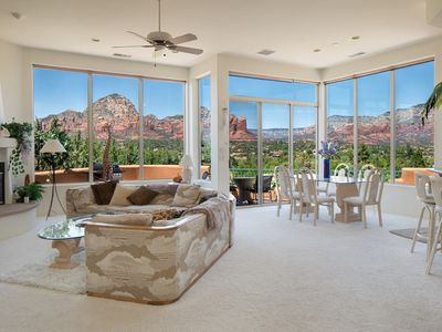 Photo for *5 Star Luxury Villa with Panoramic Red Rock Views*