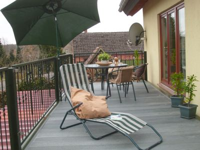 Photo for Charming Apartment Priepert 2 with Wi-Fi, Garden & Terrace; Parking Available; Pets Allowed