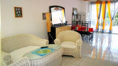 Photo for Homerez last minute deal - Amazing apt with pool access and Wifi