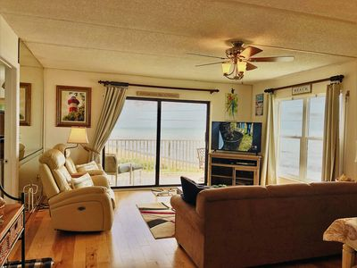 Photo for Like New!  Ormond 4th Floor Corner Oceanfront 2/2 Condo Sleeps 6