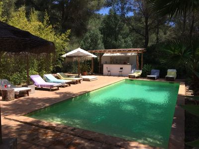 Photo for BEAUTIFUL FINCA AUTHENTIC 10 MINUTES FROM IBIZA
