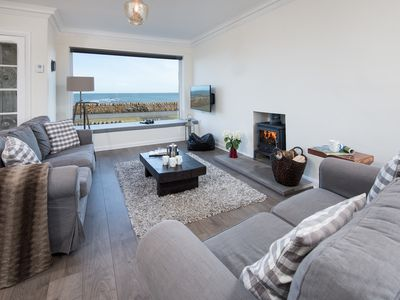Photo for Best Sea Views- The Beach House, Beadnell, Northumberland - Fabulous Sea Views