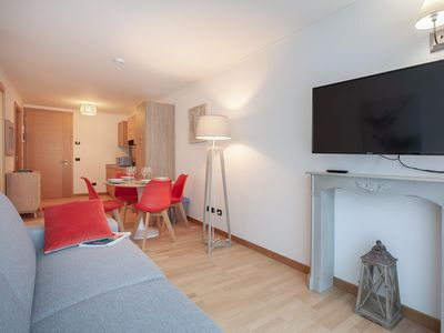 Photo for Gnifetti apartment in Gressoney with WiFi, private parking & lift.