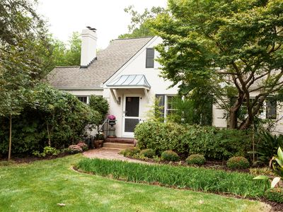 Photo for Charming home in Midtown Atlanta, fully private backyard with fish pond.