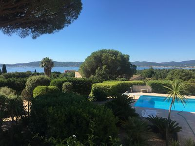 Photo for VILLA VIEW OF SAINT TROPEZ WITH POOL FOR 14 PEOPLE