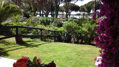 Photo for Large studio cabin (35m2) of -Ground garden-pool-Beautiful view on the pond of Ponant