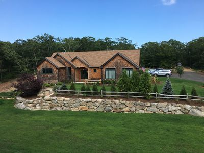 Photo for Brand New West Tisbury. Huge yard. Great kitchen great for families or weddings