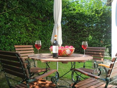 """Photo for 3-bed apartment """"Sun terrace"""" - Apartments Haus Hinneres"""