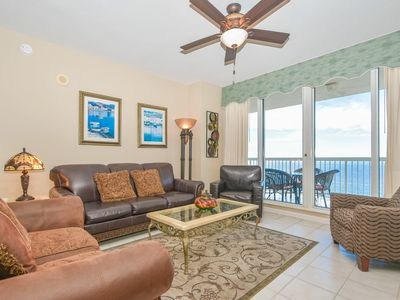 Photo for Breathtaking BEACHFRONT condo w/PRIVATE BALCONY! UPGRADED features & furnishings