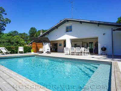 Photo for ENE SEHAS CA Villa 10 pers. with heated pool, near beach