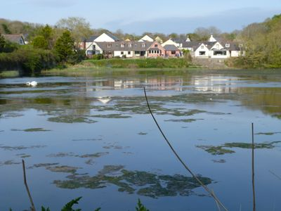 Photo for Waters Edge Retreat on the Mill Pond in Pembroke, Pembrokeshire. West Wales, UK
