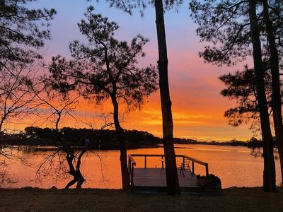 Photo for Beautiful Waterfront Cottage near Downtown Norfolk- A Peaceful Secluded Paradise