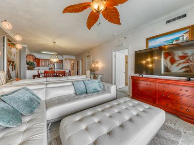 Photo for Beachfront penthouse w/ amazing views, shared pool, & hot tub!
