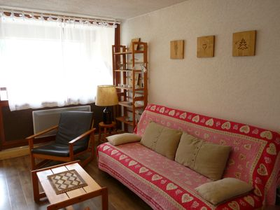 Photo for Saint Lary Soulan: 2 ROOMS APARTMENT IN CITY CENTRE, 2/4.