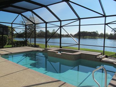 Photo for AVAILABLE SUMMER/FALL 2019 ! Stunning Golf/Lake view.LELY Resort 3 BR Pool Home