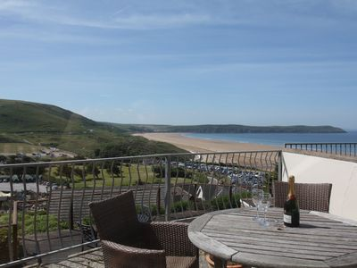 Photo for Contemporary 2-Bed Apartment with Stunning Views over Woolacombe Bay