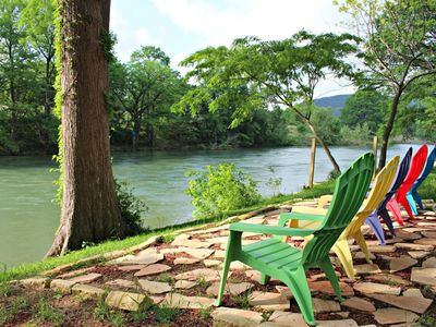 Photo for Jack's River Haus- Experience Guadalupe Riverfront at its Finest!
