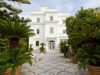 Photo for Luxury Villa with pool, fantastic garden and is far only 50 meters from the beach